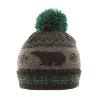 Wholesale polar bear bobble hat for boys