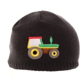 Wholesale ski hat for boys with tractor design