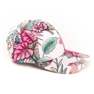 Wholesale baseball cap featuring floral patterned design