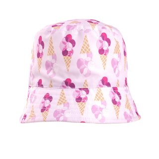 Wholesale girls ice cream print bush hat
