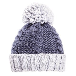 Wholesale boys cable knit bobble hat developed from acrylic