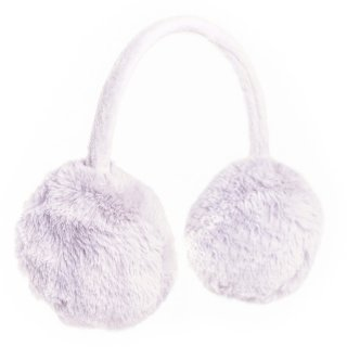 Wholesale girls faux fur ear muffs in grey