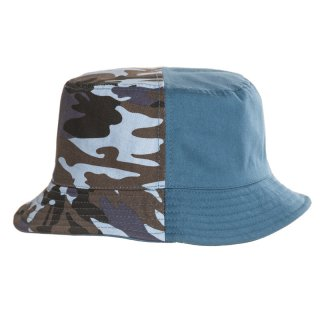 Wholesale boys bush hat with blue camo design