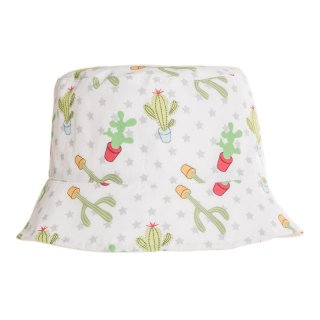 Wholesale childrens unisex bush hat with Cactus design