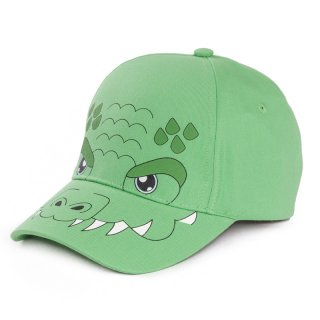 Wholesale kids unisex novelty baseball cap with croc design developed from cotton