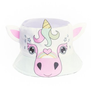 Wholesale girls unicorn novelty bush hat developed from cotton