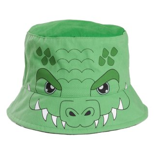Wholesale kids unisex novelty croc bush hat developed from cotton
