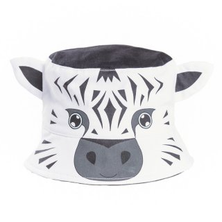 Wholesale kids unisex animal novelty zebra developed from cotton bush hat