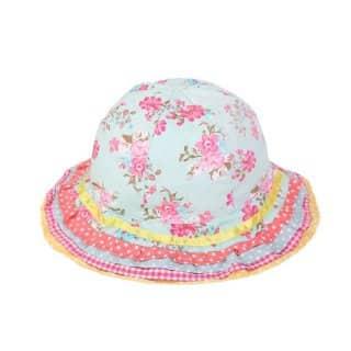 GIRL'S PATCHWORK SUN HAT