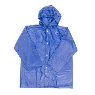 Wholesale kids unisex plain raincoat