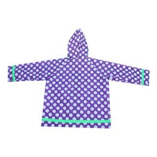 CR7 - PURPLE POLKA DOT RAINCOAT
