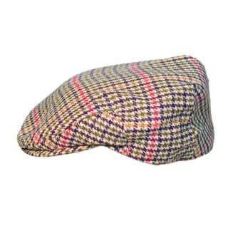 Wholesale mixed fibre flat cap in extra small size
