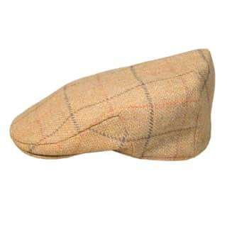 Wholesale teflon coated tweed cap in large size
