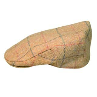 Wholesale teflon coated tweed cap in medium size