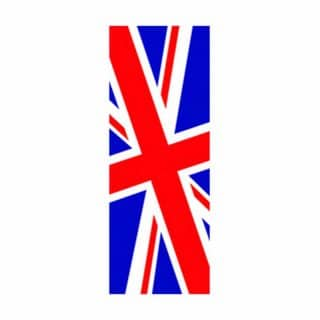 Wholesale union jack flag in 3' x 8'