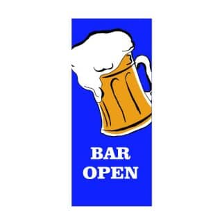 Wholesale bar open flag 3x8