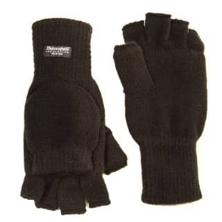 Wholesale black thinsulate shooters mitts