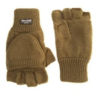 Wholesale olive thinsulate shooter mitts