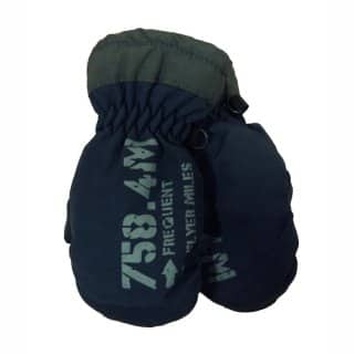 Wholesale babies ski mittens in navy