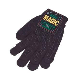 Wholesale black childrens magic gripper gloves
