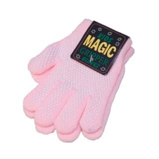 Wholesale pink childrens magic gripper gloves