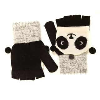 Wholesale childs assorted novelty shooter mitts with panda design