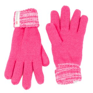 Wholesale pink kids knitted thinsulate gloves