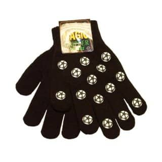 Wholesale magic gripper gloves with football design