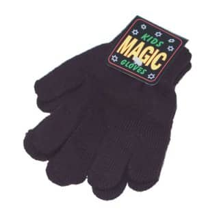 Wholesale childrens black magic gloves