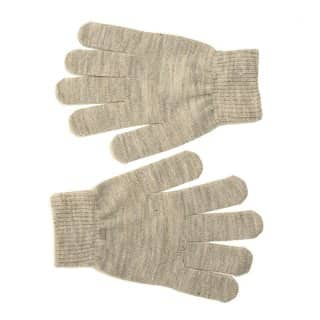 Bulk ladies stretchy glitter gloves in grey