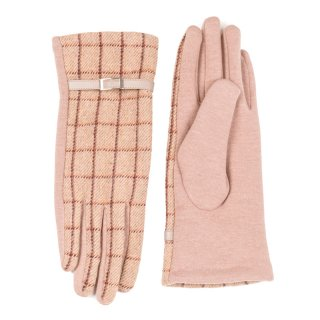 Wholesale ladies camel pattern gloves