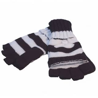 WOMEN'S STRIPEY MITTS