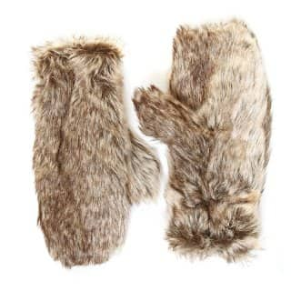 WOMEN'S FUR MITTENS