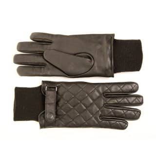 GM22- MENS QUILTED LEATHER GLOVES