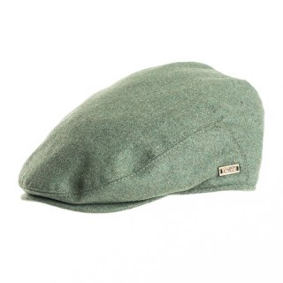 Wholesale green coloured flat cap for men