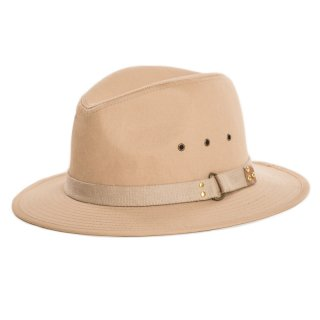 Wholesale cotton fedora for men with detailed brim