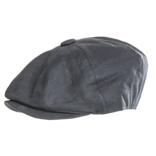 Wholesale Lightweight dark blue 8 panel cap designed for men