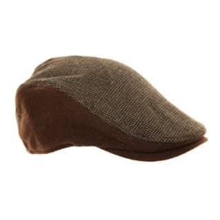 H86 - MENS 2-TONE FLAT CAP