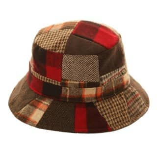 H88 - UNISEX PATCHWORK BUSH HAT