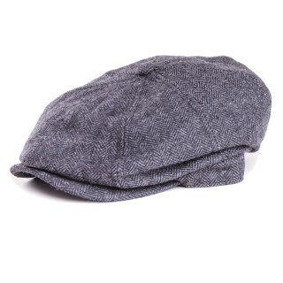 Wholesale kids size 8 panel flat cap