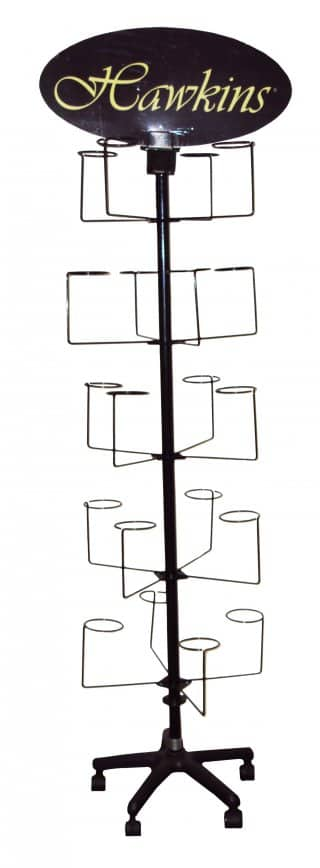 Wholesale hat display stand with arms