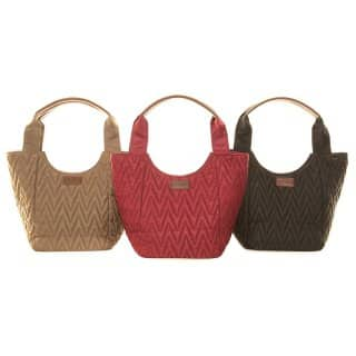 LB10-PACK OF 3 ZIG ZAG SHOULDER BAG