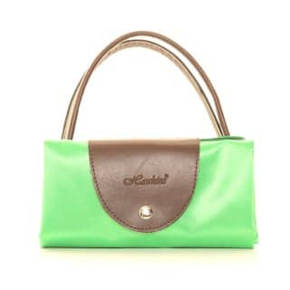 GREEN FOLD AWAY SHOPPER BAG