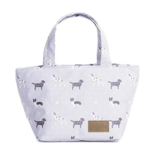 Wholesale small tote bag with dog print