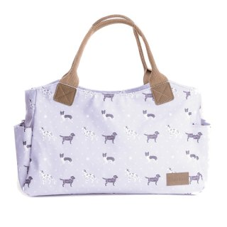 Wholesale tote bag with dog print