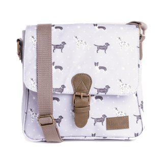 LB59- PACK OF 3 CROSS BODY DOG PRINT