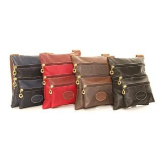 Wholesale small cross body bag in packs of 4