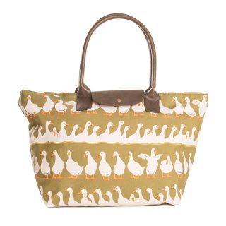 Wholesale duck print shopper bag