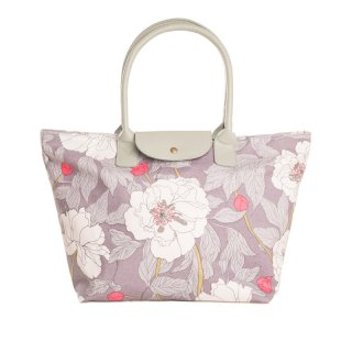 Wholesale flower print shopper bags