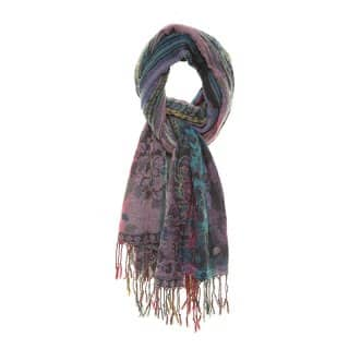 LS100 - LADIES BEVERLY STRIPE SCARF